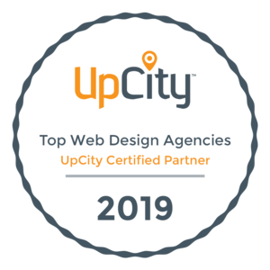 UpCity Top Web Design Agency Badge 2019