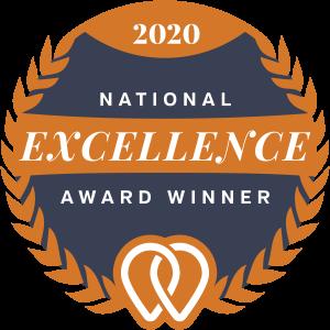 Upcity National Excellence Award Winner Badge