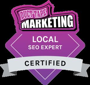 Duct Tape Marketing Local SEO Expert Badge